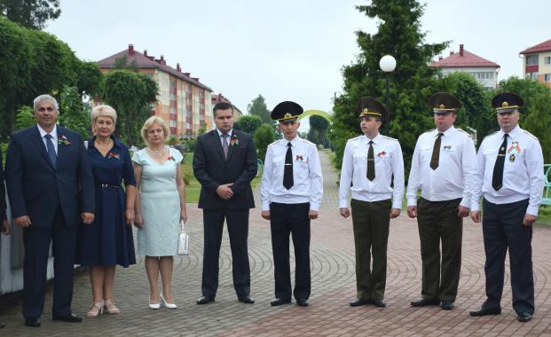 Митинг в честь Дня Независимости Республики Беларусь в г.Белыничи