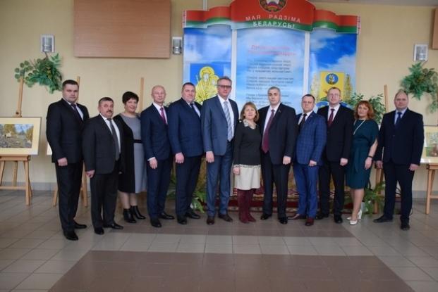 Слёт передовиков народного хозяйства Белыничского района