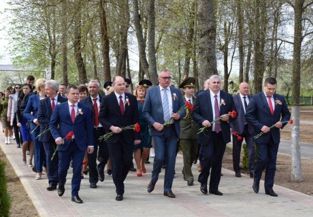 Праздник Победы в г.Белыничи
