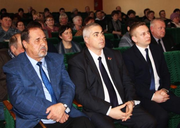 """Отчётное собрание Белыничского СПК """"Колхоз """"Родина"""""""