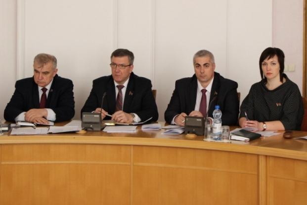 Расширенное заседание Постоянной комиссии Палаты представителей Национального собрания Республики Беларусь по государственному строительству, местному самоуправлению и регламенту совместно с Постоянной комиссией Совета Республики Национального собрания Ре