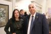 С художницей Ларисой Журавович на открытии художественного музея
